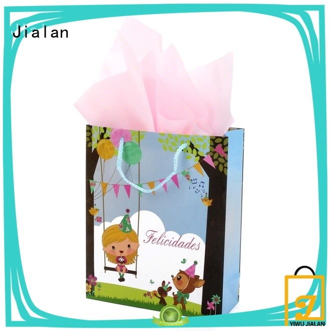 Jialan cost saving paper gift bags packing gifts