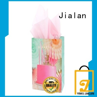Jialan good quality paper gift bags great for holiday gifts packing