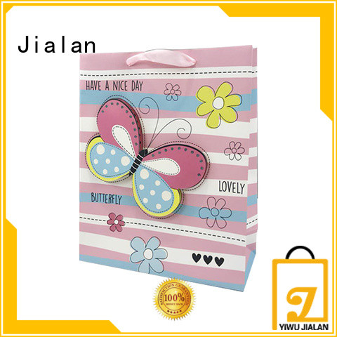 Jialan Eco-Friendly personalized paper bags ideal for packing gifts
