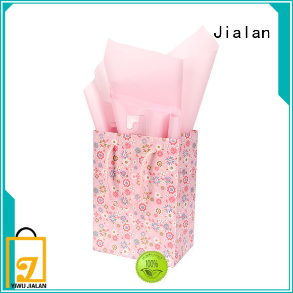 Jialan cost saving paper gift bags satisfying for packing gifts