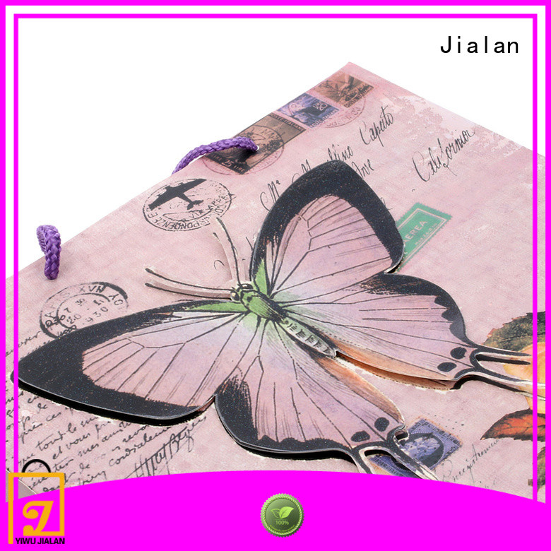 Jialan gift wrap bags best choice for packing birthday gifts