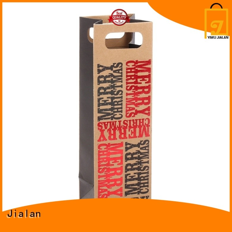 Jialan paper wine gift bags supermarket