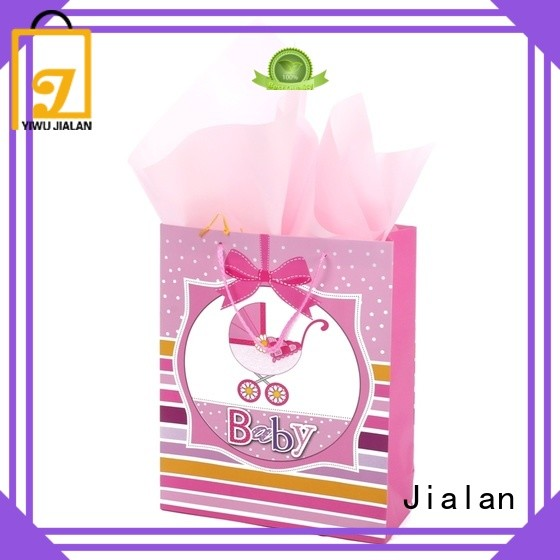 Jialan paper carrier bags indispensable for packing gifts