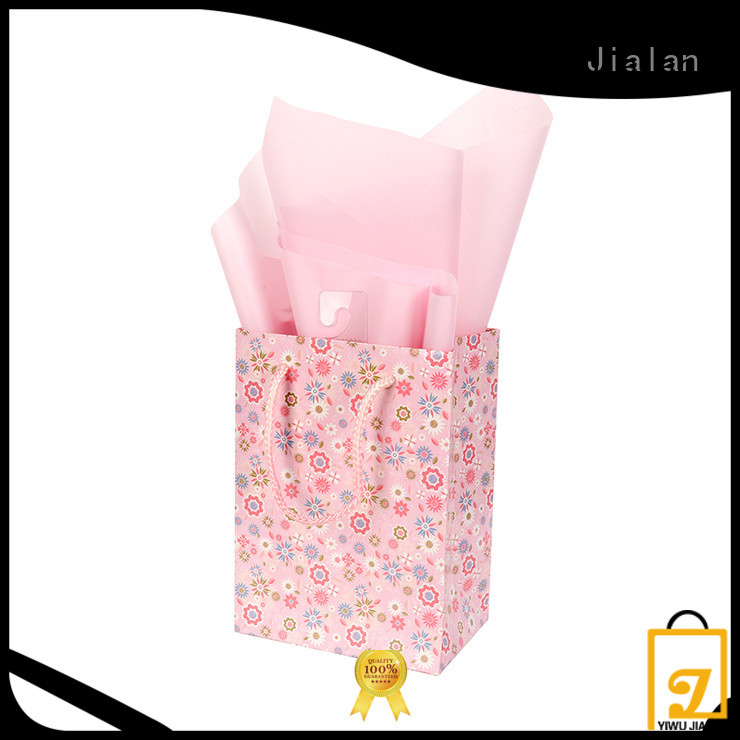 Jialan personalized paper bags satisfying for holiday gifts packing
