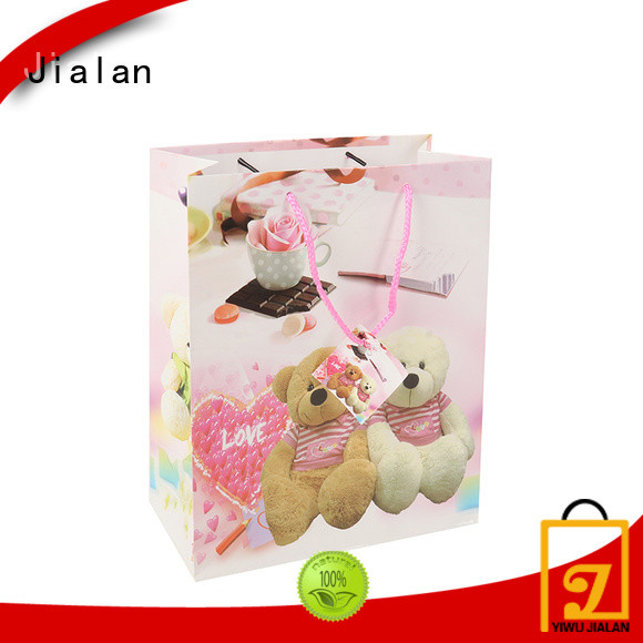 Jialan personalized paper bags ideal for holiday gifts packing