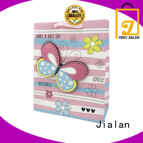 Jialan good quality paper bags with handles packing gifts