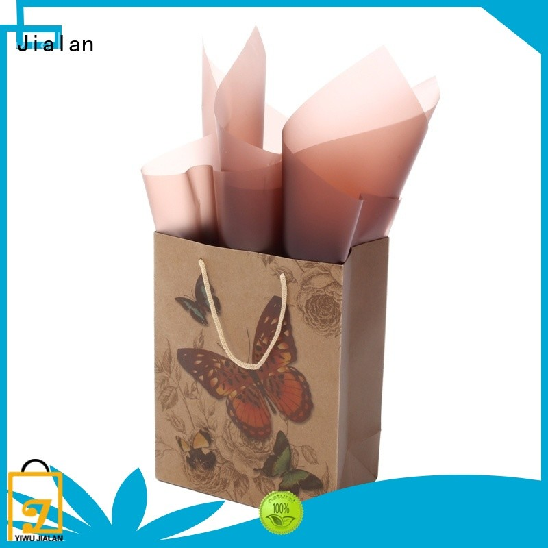 Jialan high grade kraft paper bags optimal for shopping malls