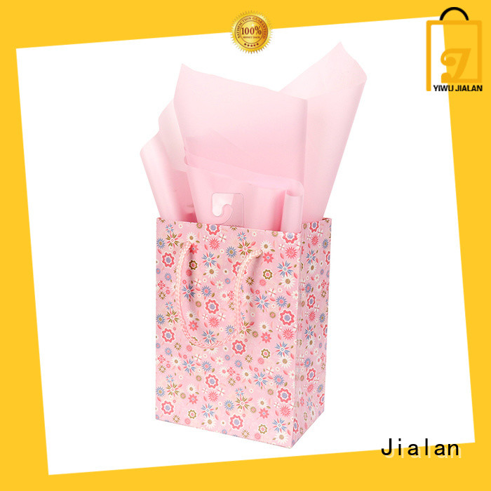 Jialan Eco-Friendly gift bags optimal for holiday gifts packing