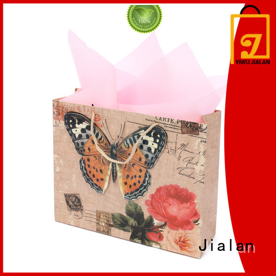 Jialan hot selling gift wrap bags suitable for gift shops