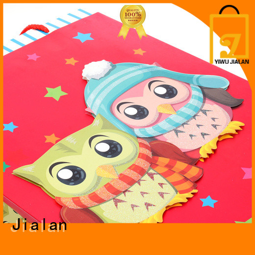 Jialan customized gift wrap bags excellent for gift stores