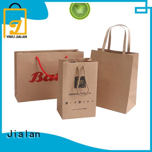 Jialan paper bag satisfying for clothing stores