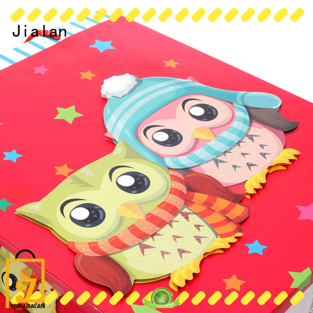Jialan gift wrap bags best choice for holiday gifts packing