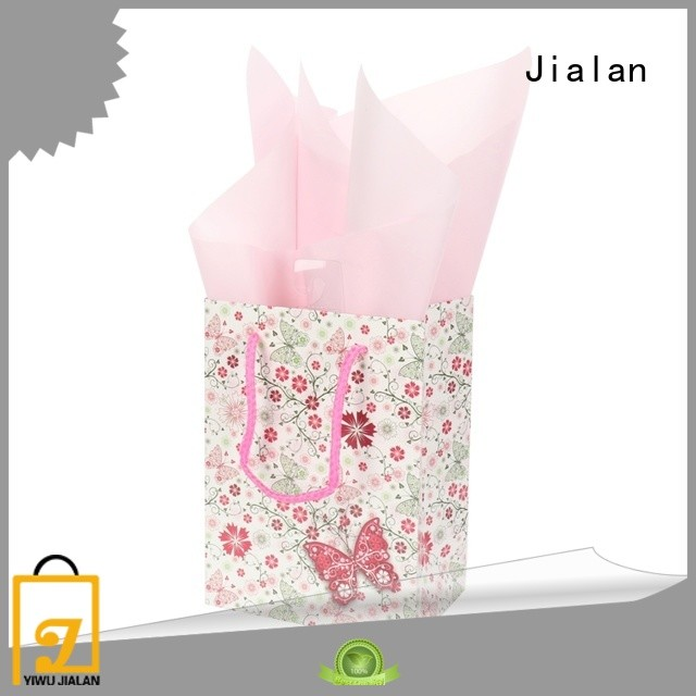 Jialan cost saving paper gift bags ideal for packing gifts