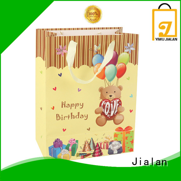 Jialan good quality gift bags holiday gifts packing