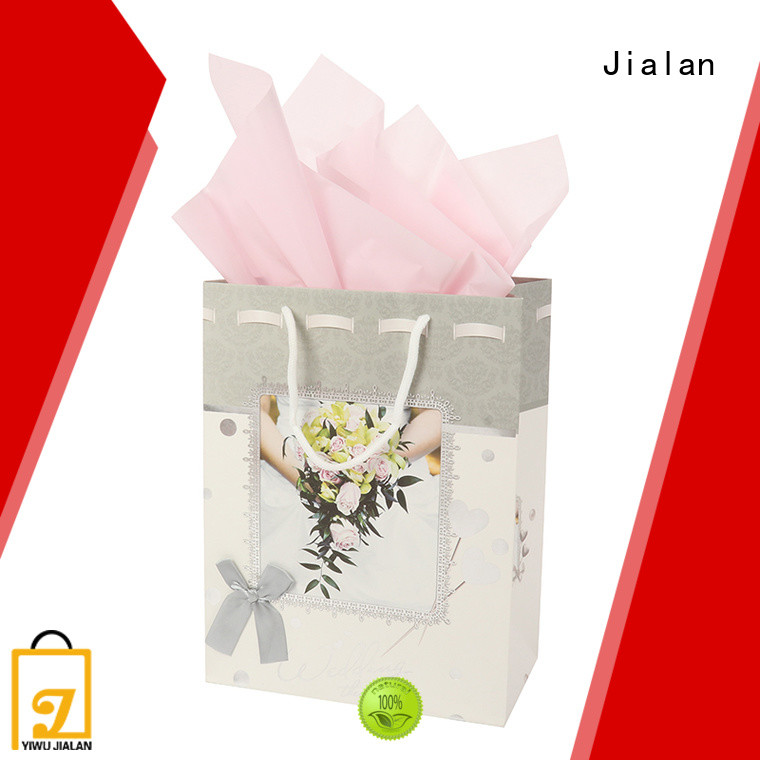 Jialan cost saving paper gift bags holiday gifts packing