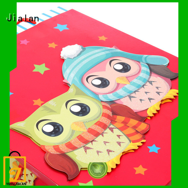 Jialan various gift wrap bags popular for holiday gifts packing