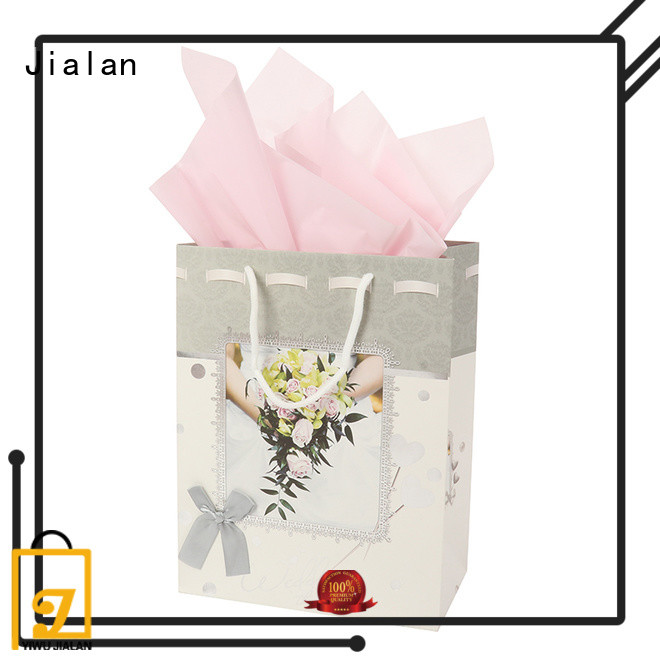 Jialan personalized paper bags holiday gifts packing