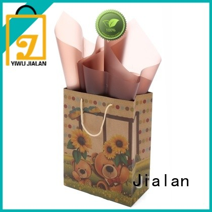 Jialan hot selling paper kraft bags perfect for clothing stores