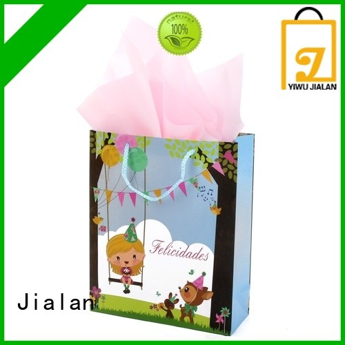 good quality personalized paper bags optimal for holiday gifts packing