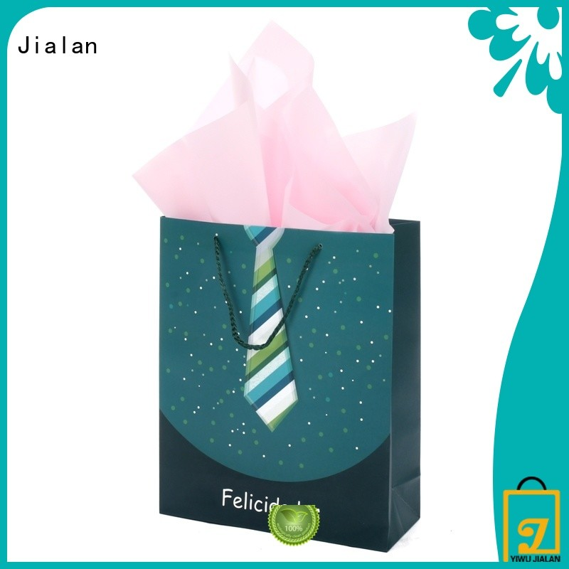 Jialan personalized paper bags perfect for packing birthday gifts